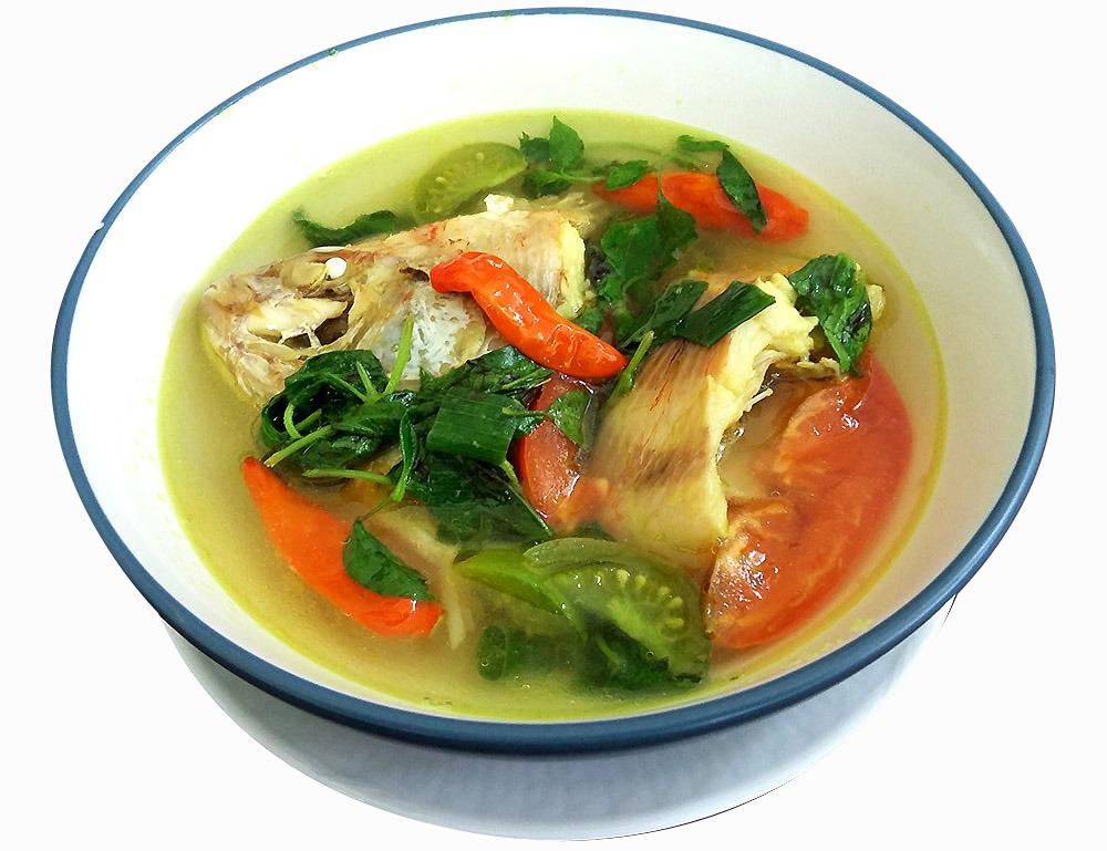 Sop Ikan Nila